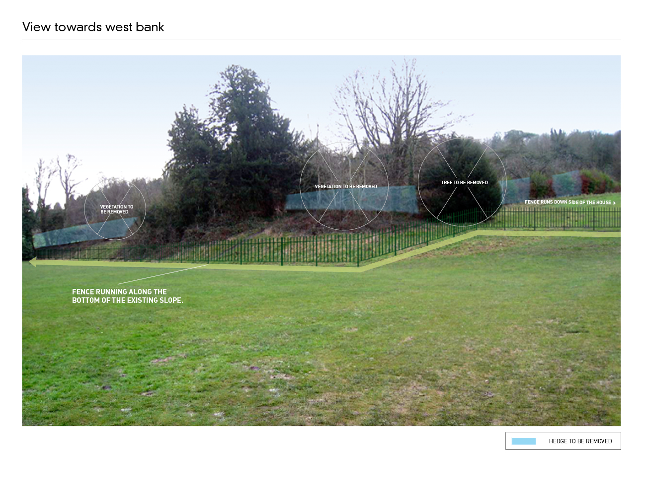 Stanmer House Fence Proposal 2